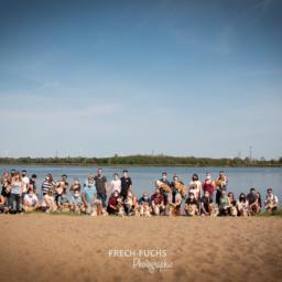 Feucht-fröhlicher Beach Day in Magdeburg